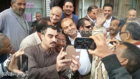 خالد حنفى وزير التموين ، وزارة التموين (1)