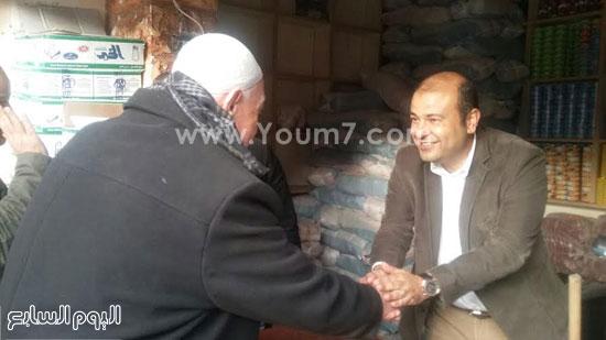 خالد حنفى وزير التموين ، وزارة التموين (3)