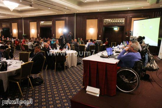 جامعة الدول العربية  وزارة التضامن الاجتماعى  ذوى الاحتياجات الخاصة (1)