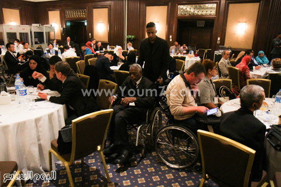 جامعة الدول العربية  وزارة التضامن الاجتماعى  ذوى الاحتياجات الخاصة (4)