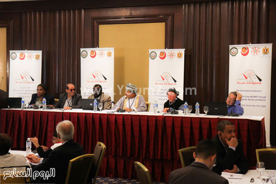 جامعة الدول العربية  وزارة التضامن الاجتماعى  ذوى الاحتياجات الخاصة (5)