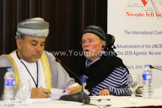 جامعة الدول العربية  وزارة التضامن الاجتماعى  ذوى الاحتياجات الخاصة (9)