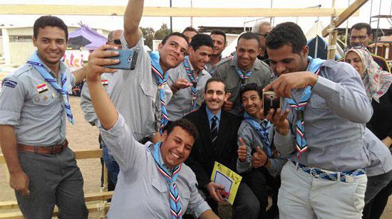 المهرجان الكشفى لجوالة جامعة قناة السويس (1)