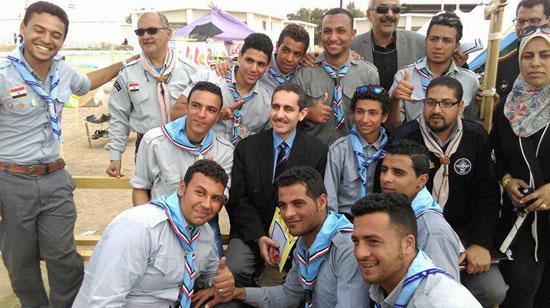 المهرجان الكشفى لجوالة جامعة قناة السويس (2)