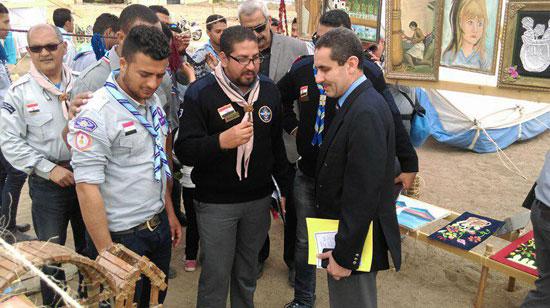 المهرجان الكشفى لجوالة جامعة قناة السويس (3)