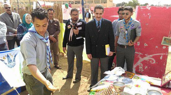 المهرجان الكشفى لجوالة جامعة قناة السويس (5)