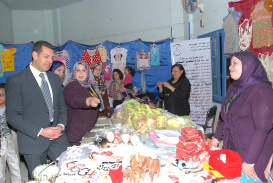 معرض المجلس القومى للمرأة للمنتجات اليدوية (4)
