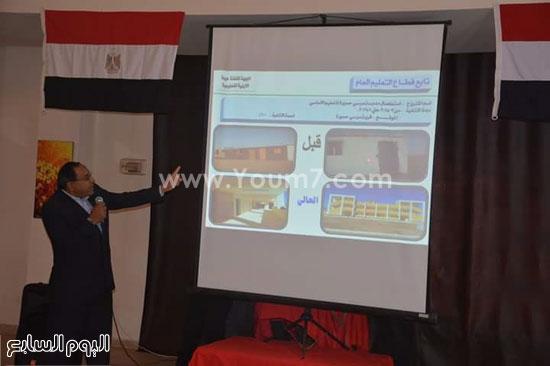 وفد اللجنة البرلمانية ينطلق من مرسى علم لتفقد مدينة شلاتين (3)
