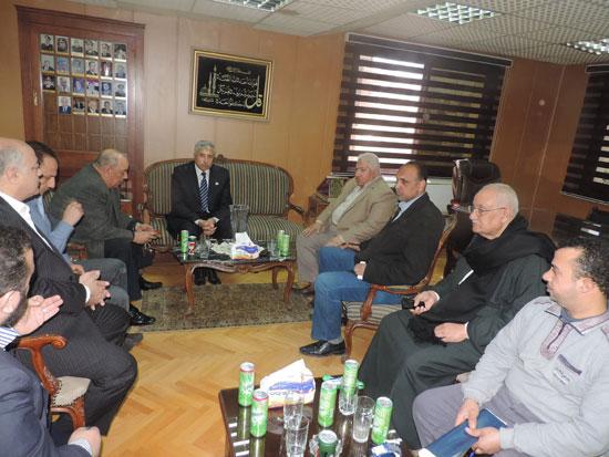 مدير أمن الغربية وأعضاء الغرف التجارية (2)