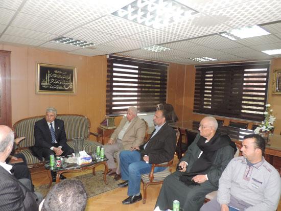 مدير أمن الغربية وأعضاء الغرف التجارية (4)