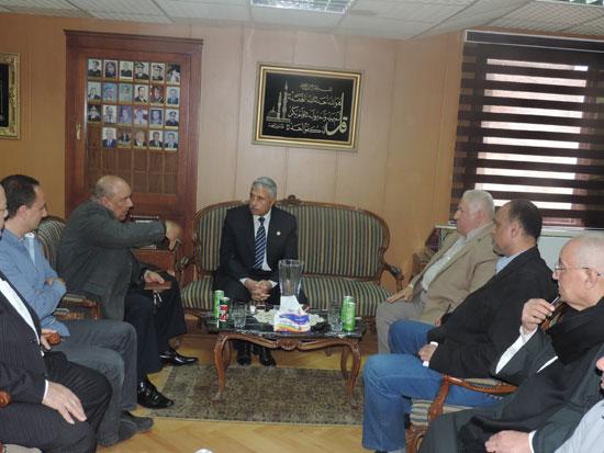 مدير أمن الغربية وأعضاء الغرف التجارية (5)