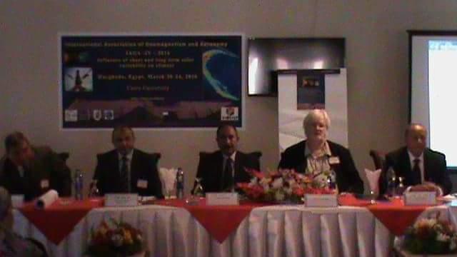 مؤتمر الاتحاد الدولة للمغناطيسية الارضية بالغردقة (1)