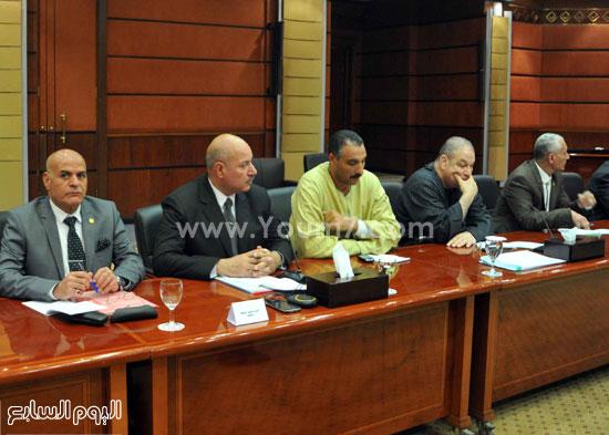 مصر  مجلس النواب  شريف إسماعيل  نواب المنوفية لقاء شريف اسماعيل باعضاء البرلمان (1)