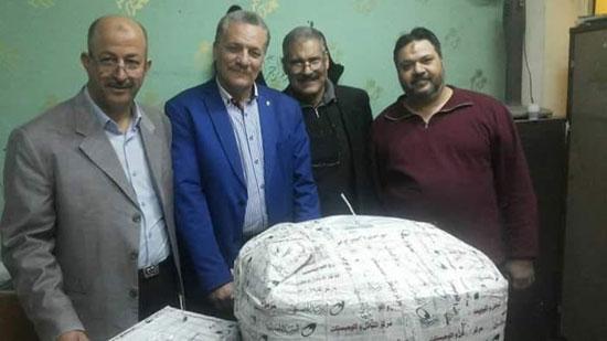 -ضبط-10-آلاف-قرص-مخدر-داخل-طرد-ملابس-بمطار-القاهرة-(4)