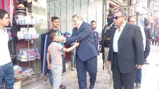 اللواء السيد الحبال - مدير أمن شمال سيناء  (4)