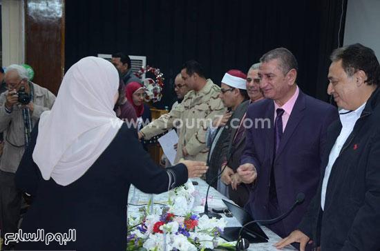 وكيل وزارة الأوقاف بكفرالشيخ لن ننسى أمهات الشهداء (5)