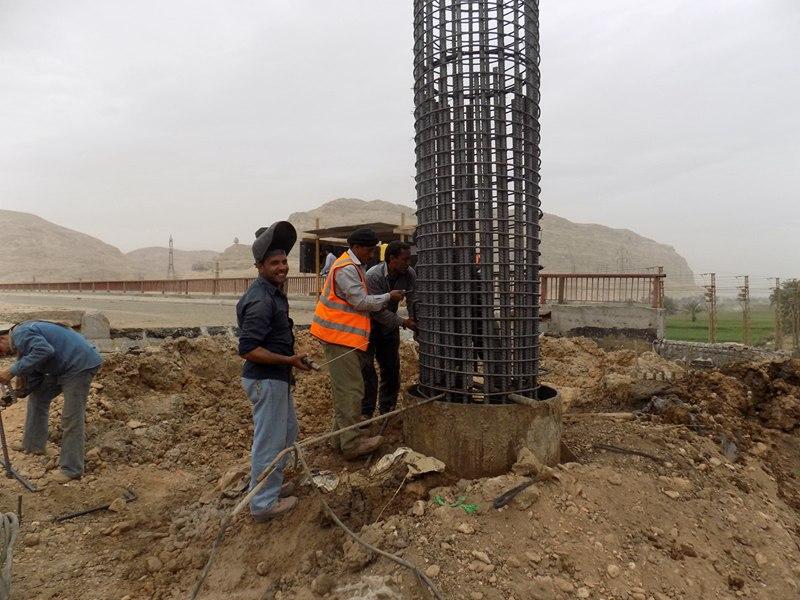كوبرى جامعة سوهاج، حسن علام ، محافظة سوهاج (1)