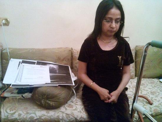 بثينة تعانى الام المرض وتحتاج الى المساعدة (7)
