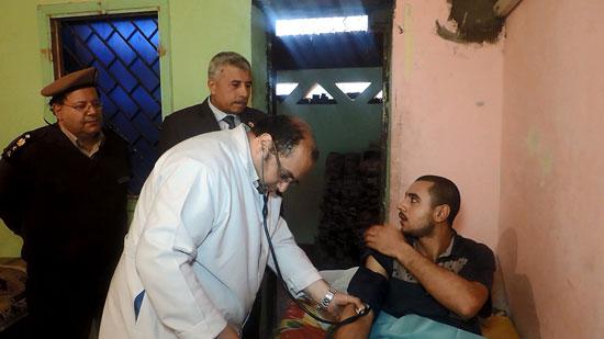 القافلة الطبية بمديرية امن الغربية (3)