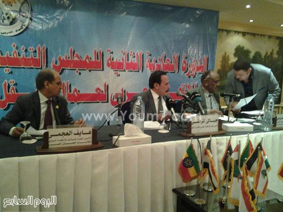 مؤتمر الاتحاد العربى لنقابات عمال النقل (1)