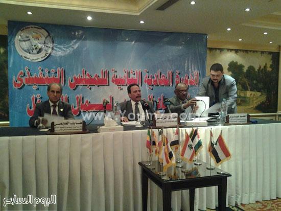مؤتمر الاتحاد العربى لنقابات عمال النقل (3)