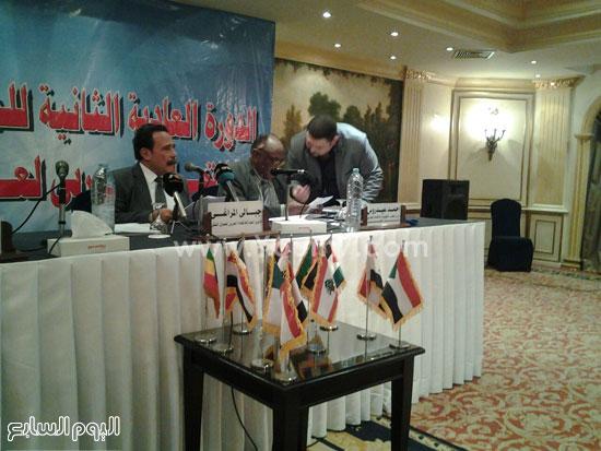 مؤتمر الاتحاد العربى لنقابات عمال النقل (4)