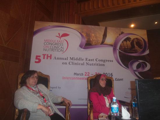 مؤتمر الشرق الأوسط للتغذية العلاجية (1)
