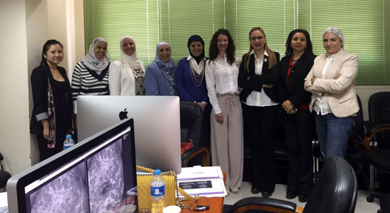 عضوات البرنامج القومى لصحة المرأة (2)