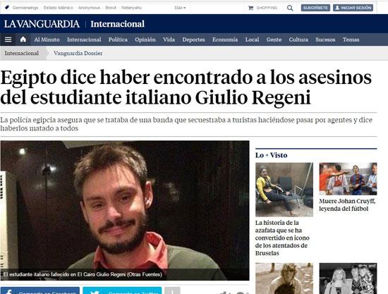 وسائل الإعلام الإيطالية والإسبانية، (3)