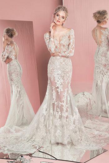 نتيجة بحث الصور عن فساتين زفاف 2017