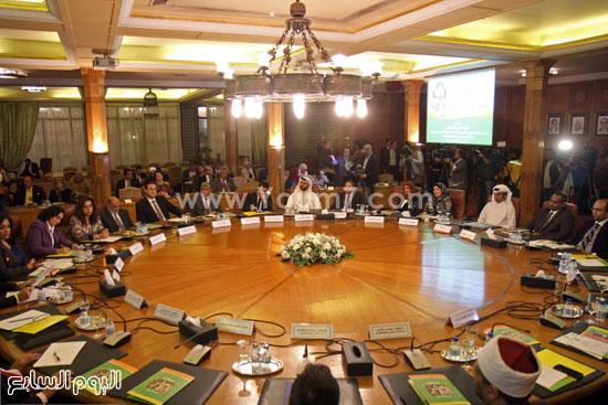مؤتمر اليوم العربى لليتيم  جامعة الدول العربية اليتيم (1)