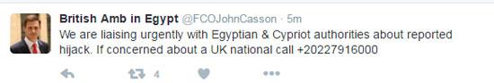 جون كاسن السفير البريطانى