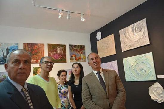 افتتاح معرض الفنون الروسية بالغردقة (1)