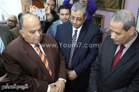 زيارة وزير التعليم لمدرسة شجرة الدر بالدقهلية (4)