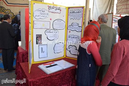 وزير التعليم فى مدرسة المنصورة  (1)