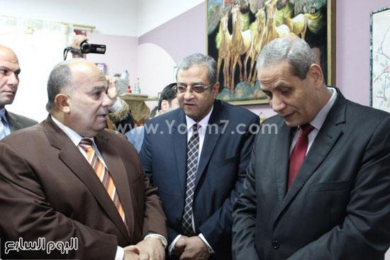 الدكتور الهلالي الشربيني الهلالي وزير التربية والتعليم (1)