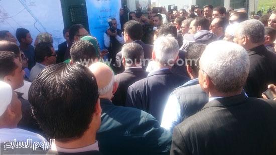حسام مغازى -وزير الرى-الطاقة الشمسية-رى الأراضى القديمة (5)