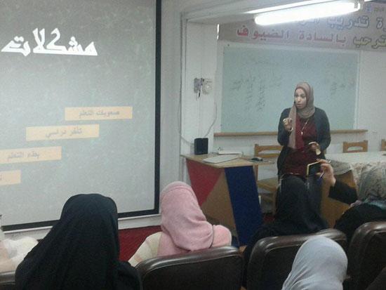 دورة تدريبية بجامعة قناة السويس (1)