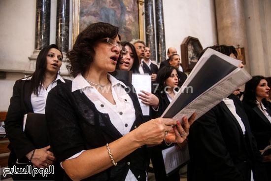 قداس الشاب الإيطالى هشام زعزوع السياحة وازارة السياحة ايطاليا (2)