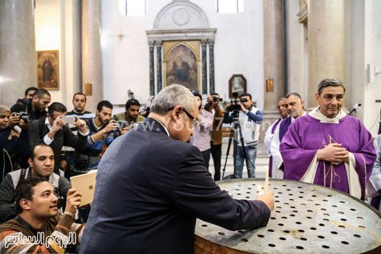 قداس الشاب الإيطالى هشام زعزوع السياحة وازارة السياحة ايطاليا (13)