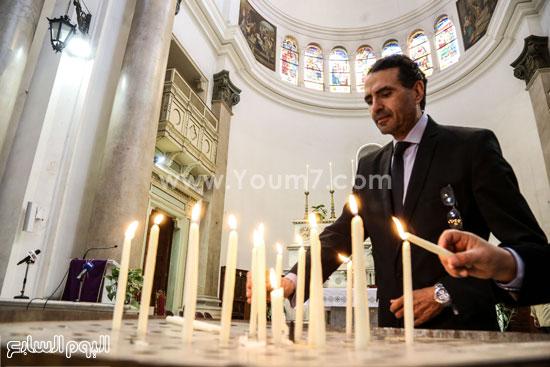 قداس الشاب الإيطالى هشام زعزوع السياحة وازارة السياحة ايطاليا (15)