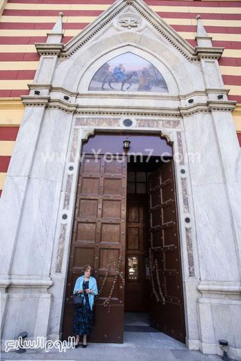 قداس الشاب الإيطالى هشام زعزوع السياحة وازارة السياحة ايطاليا (22)