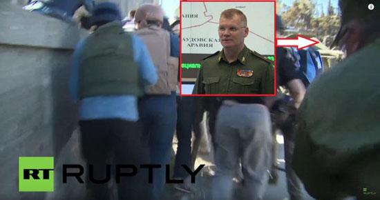 -المتحدث-العسكرى-الروسى-ينقذ-الصحفيين-الأجانب-من-قصف-تركى-بسوريا-(2)