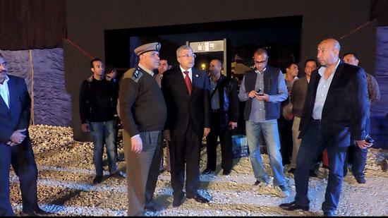 اللواء نبيل عبد الفتاح مساعد  وزير الداخلية مدير أمن الغربية (6)