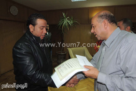 مدير امن السويس يكرم 4 امناء بقسم فيصل (4)