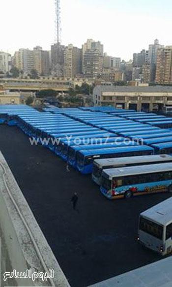 اضرب سائقى النقل العام بالإسكندرية (1)
