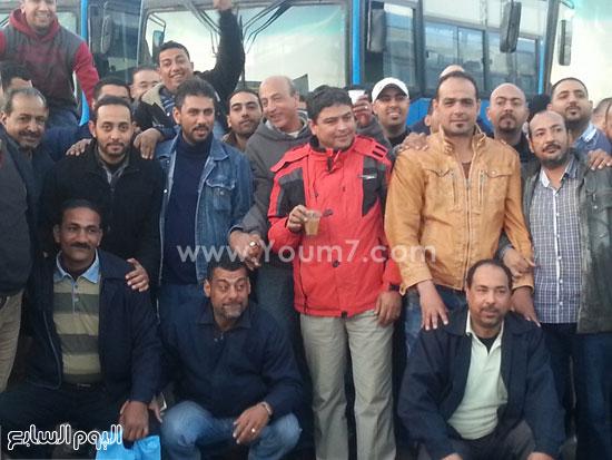 اضرب سائقى النقل العام بالإسكندرية (4)