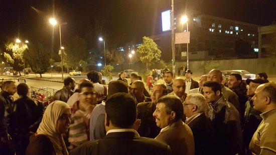 تظاهرة طالبات المدينة الجامعية بأسيوط (3)