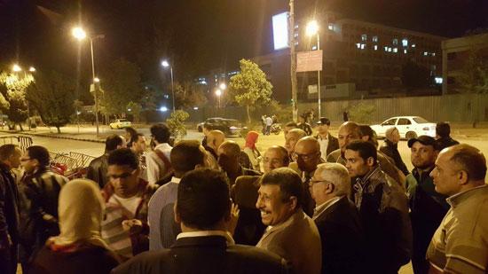 تظاهرة طالبات المدينة الجامعية بأسيوط (4)