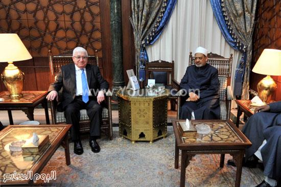 فؤاد معصوم العراق احمد الطيب الازهر (2)